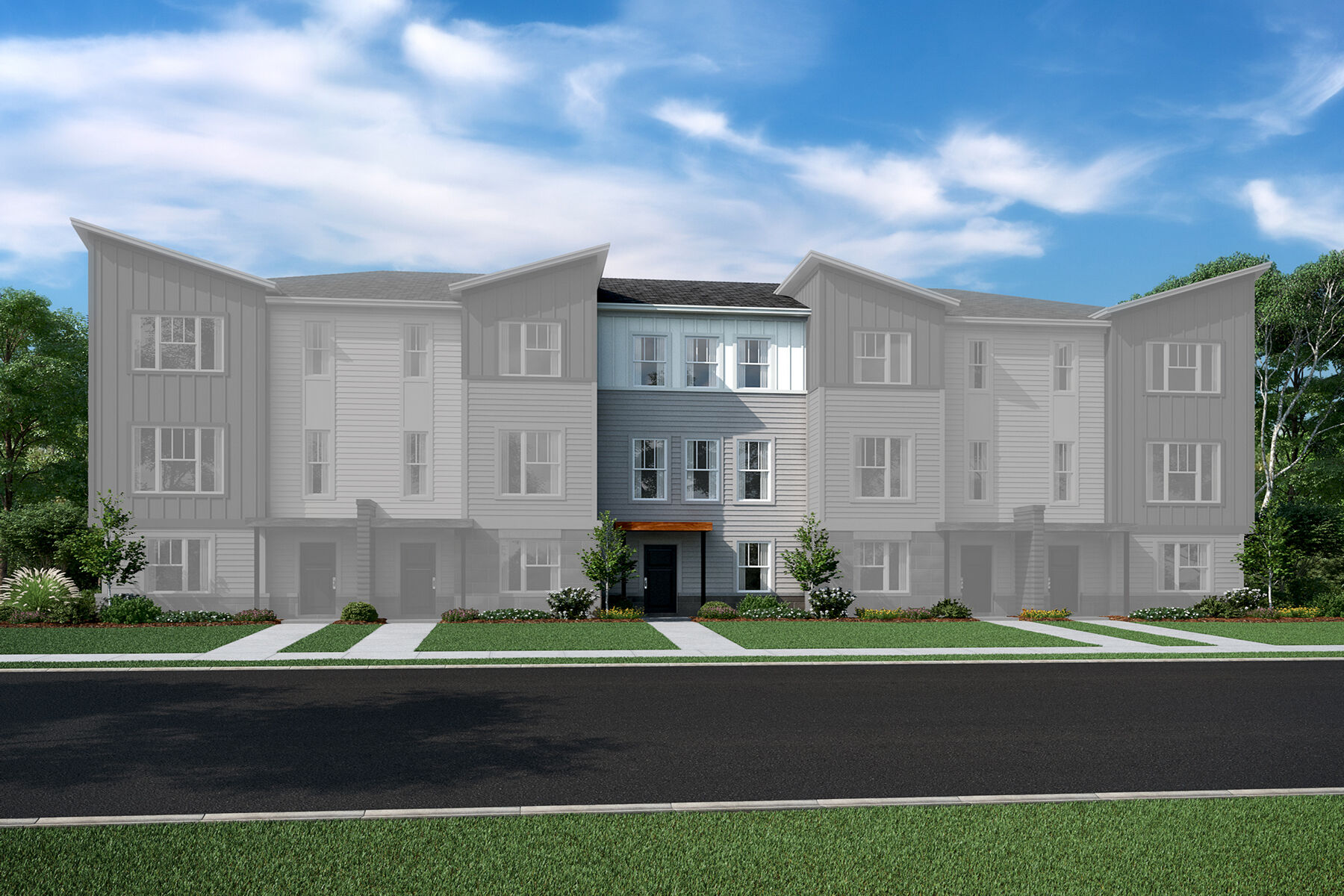 Bolton Square Townhome Elevation