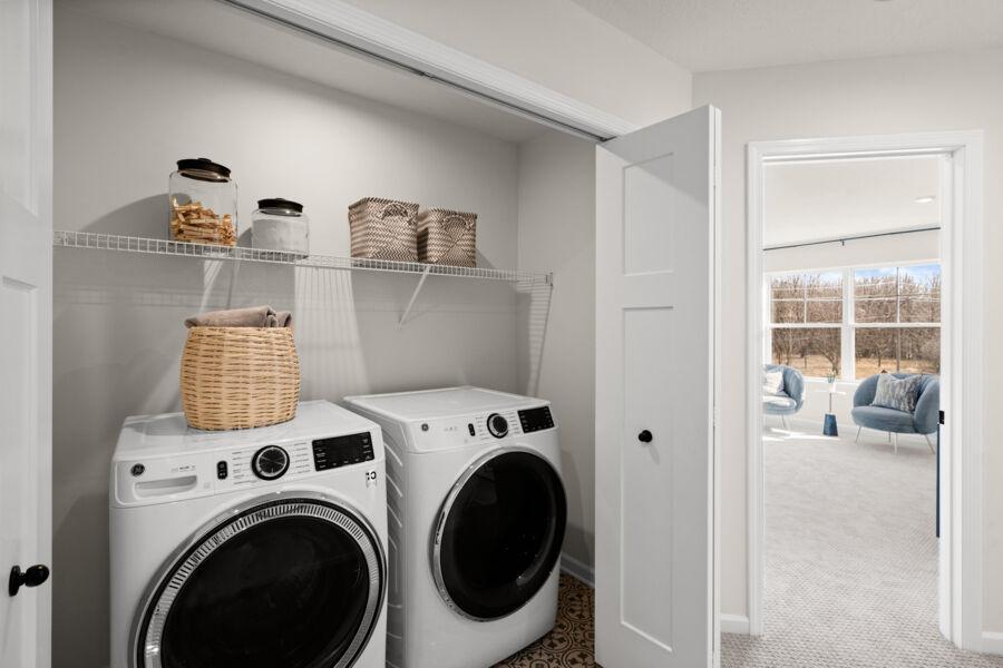 Savanna Laundry Room