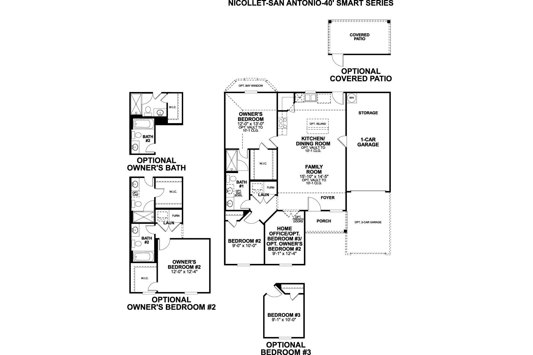 Nicollet Floorplan