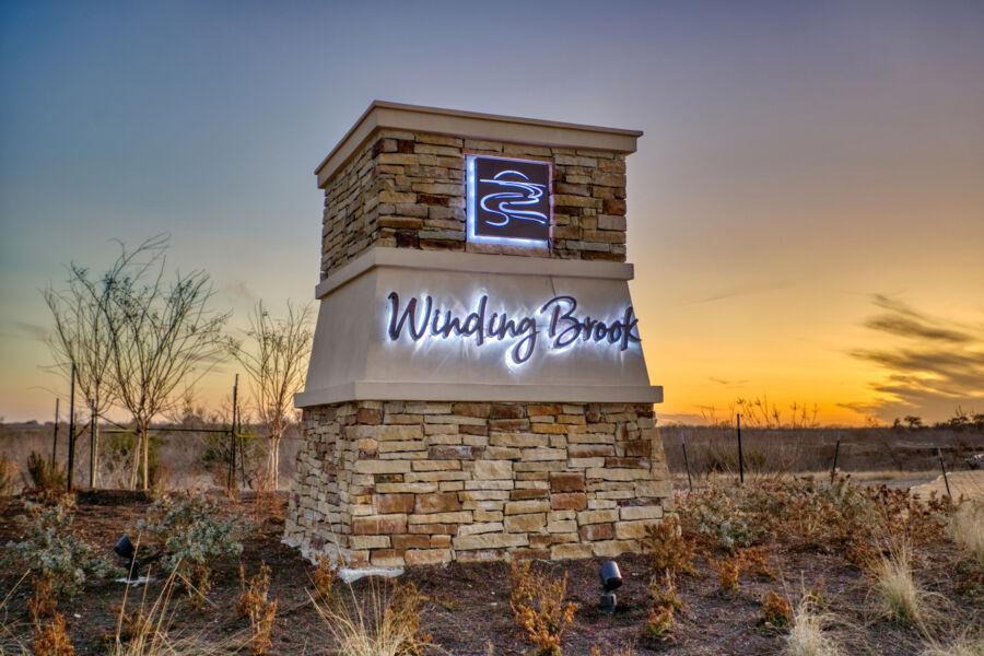 Winding Brook Entrance
