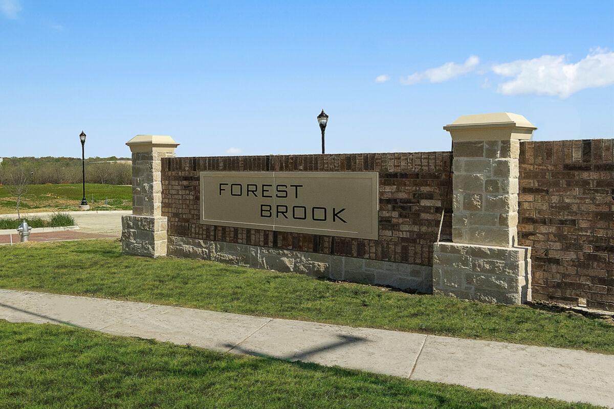 Forest Brook Entrance