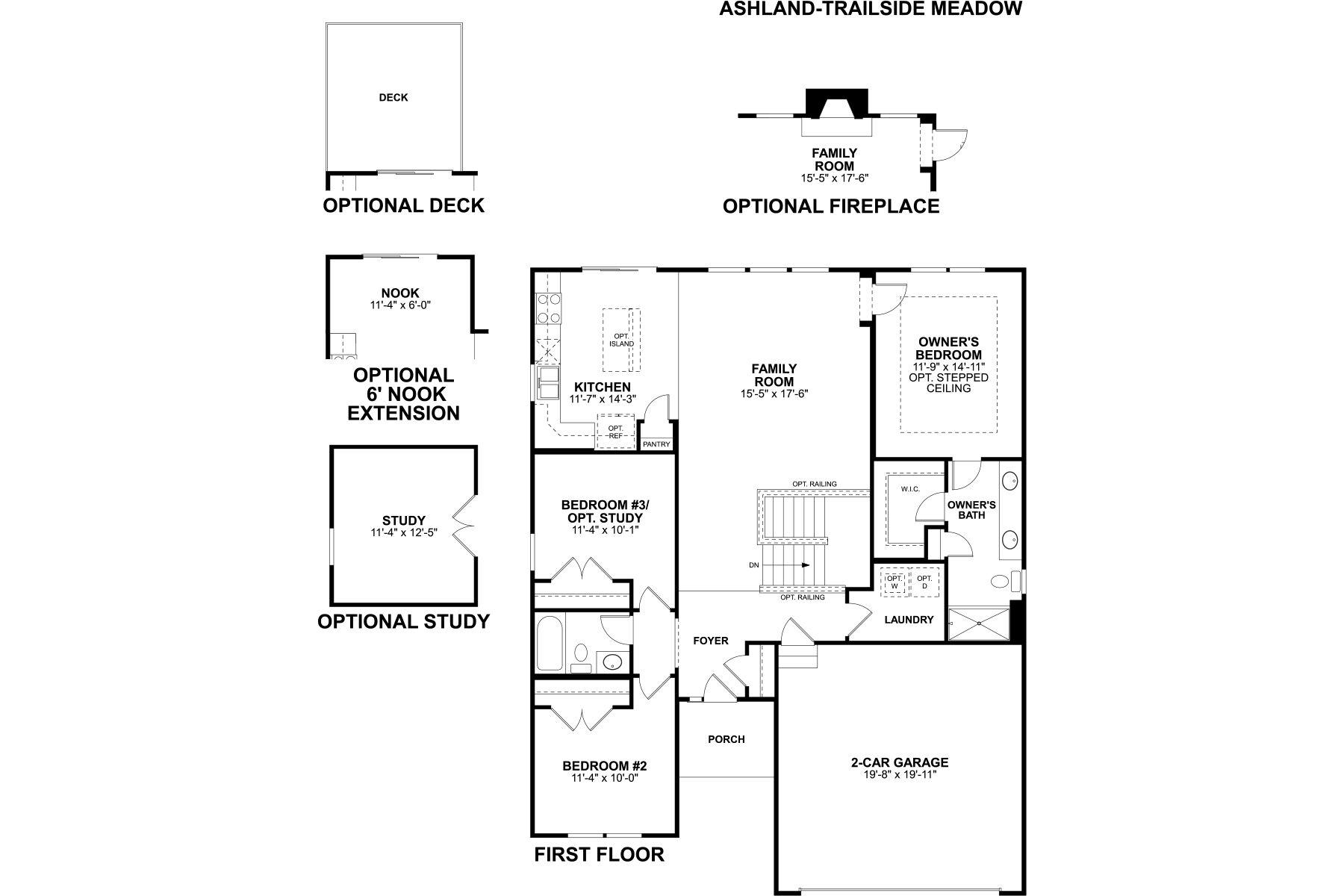 Ashland Floorplan