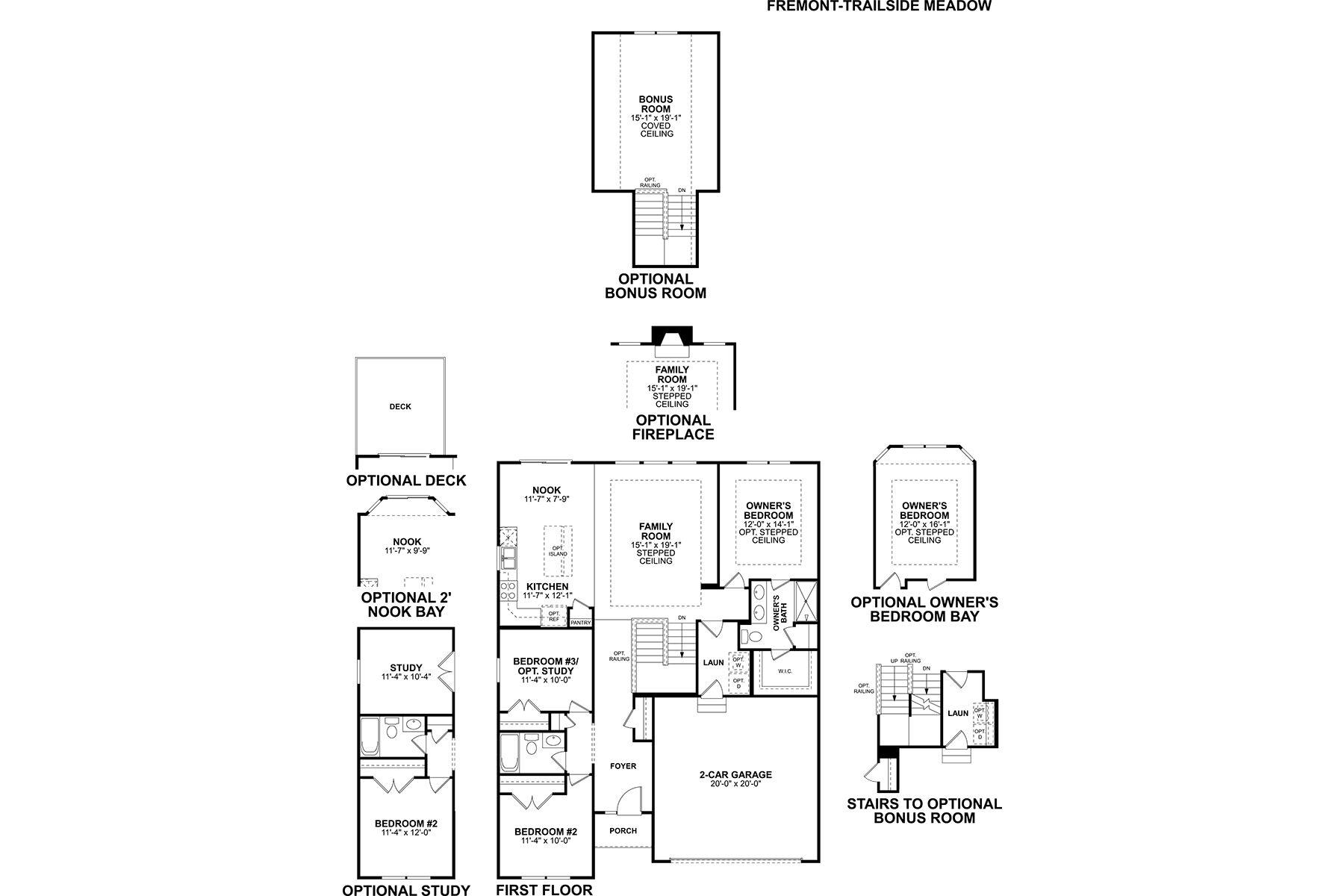 Fremont Floorplan