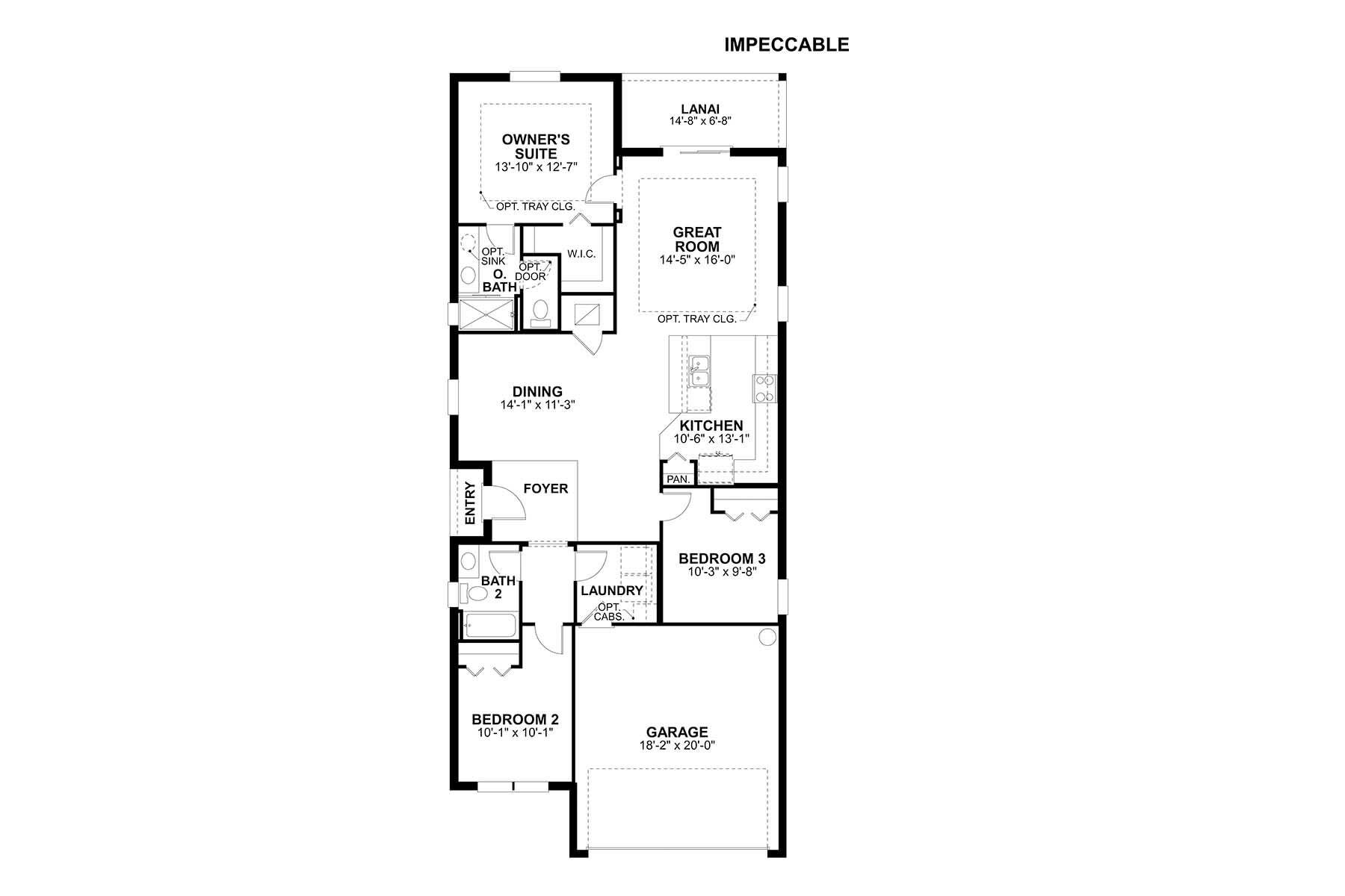 Impeccable Floorplan