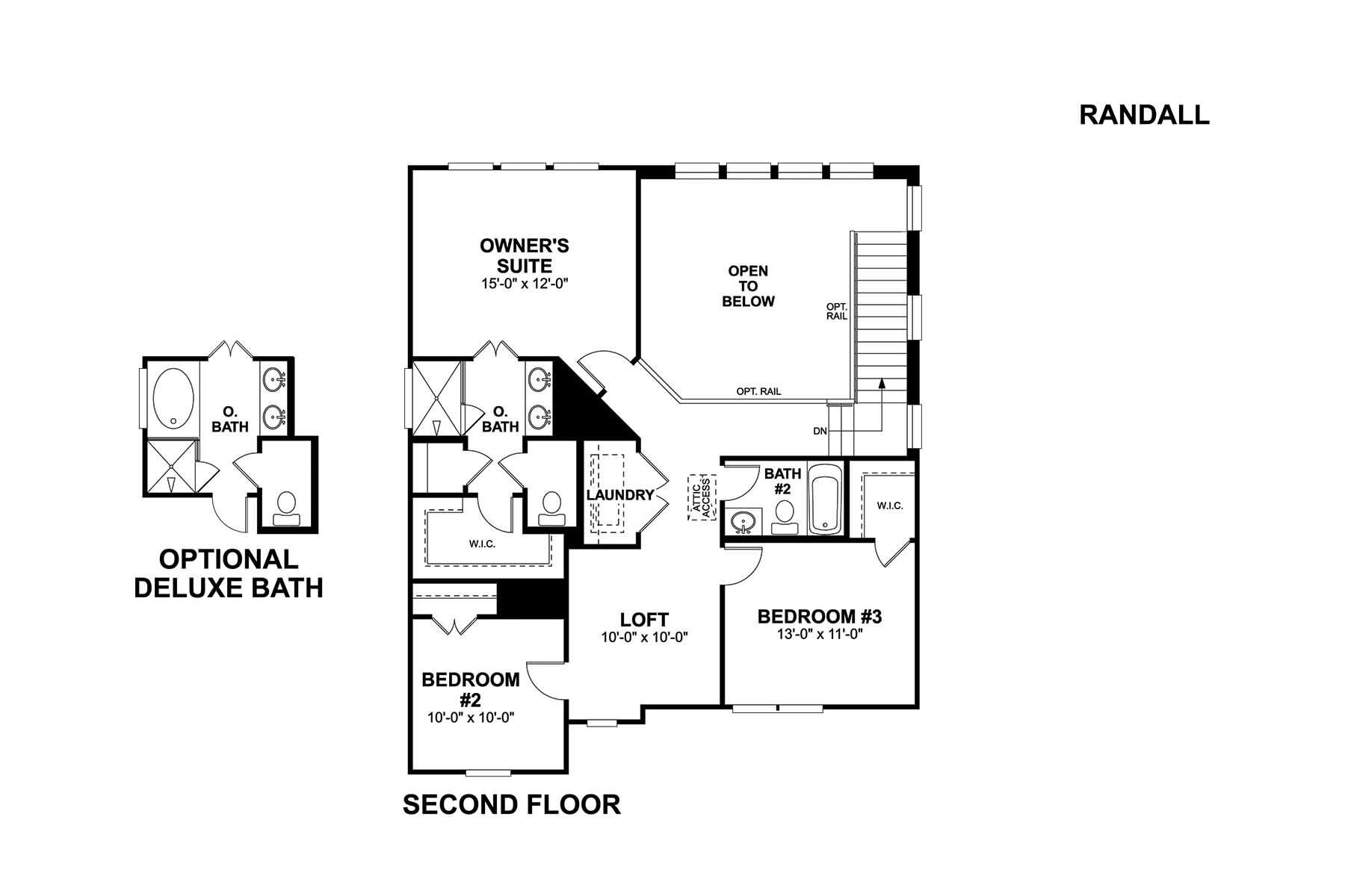 Randall Second Floor