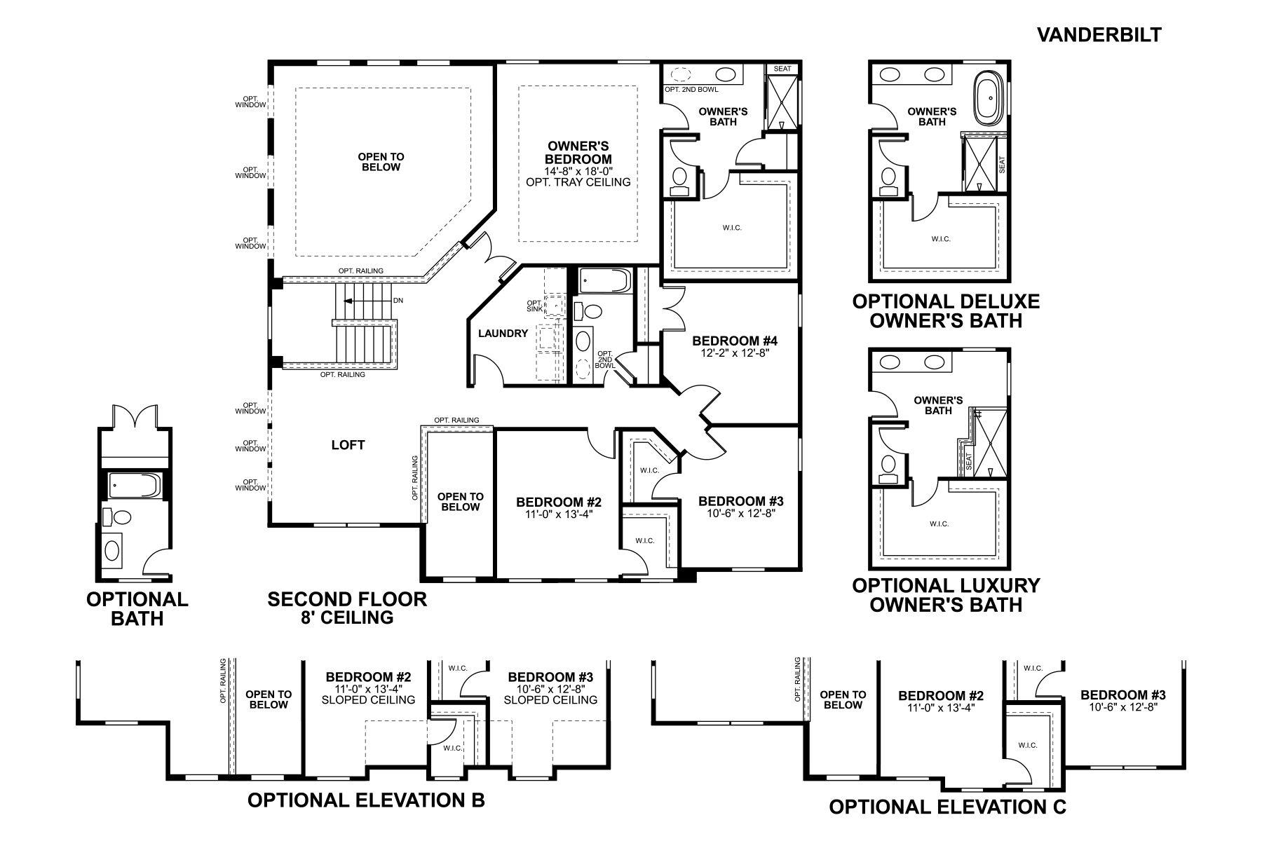 Vanderbilt Floorplan