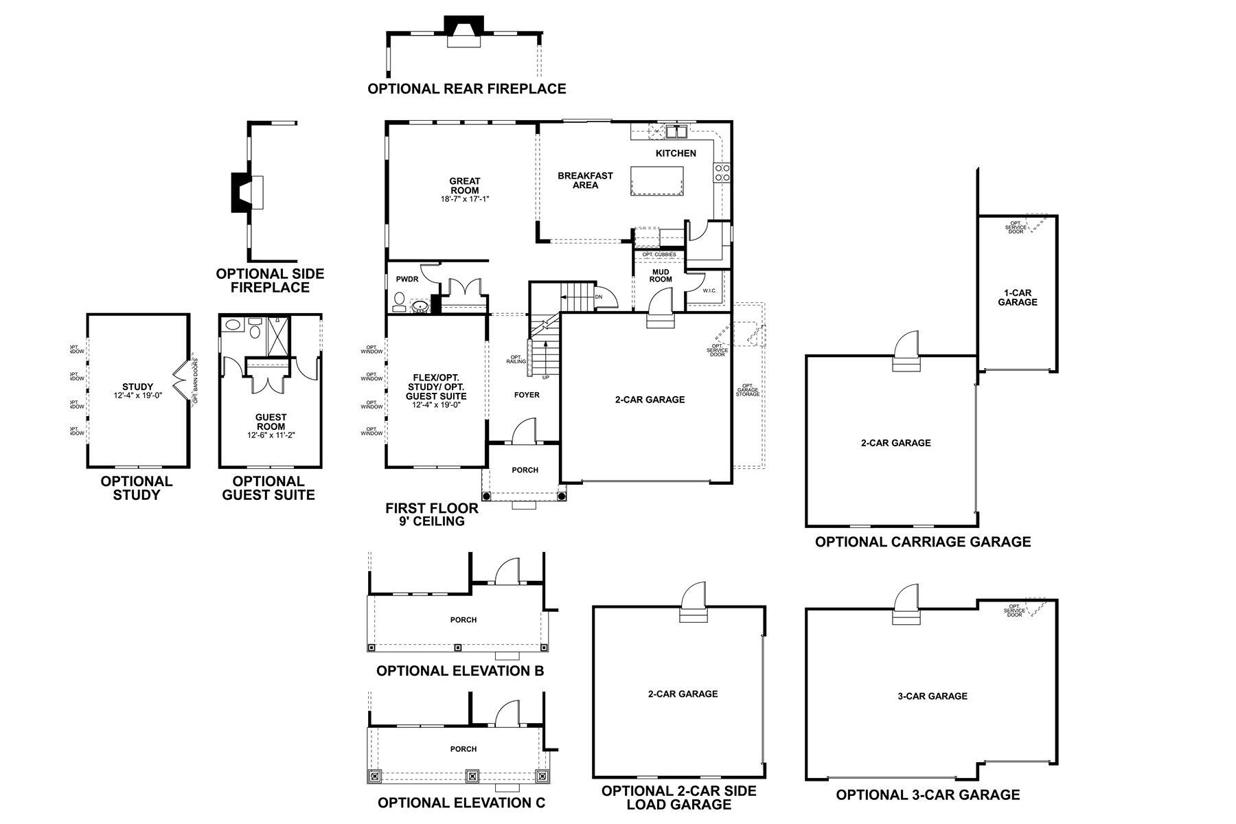Northwestern Floorplan
