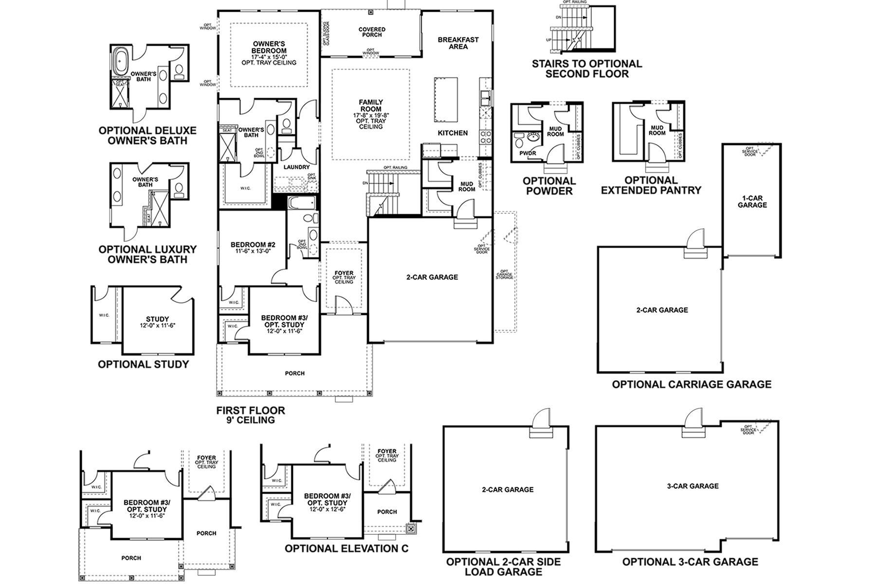 Hillsdale Floorplan