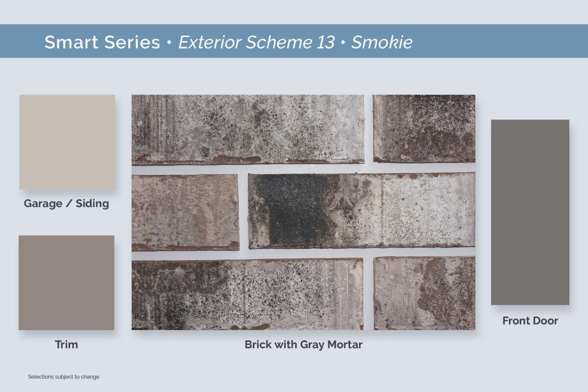 Dallas Smart Series Exterior Package 13 Smokie