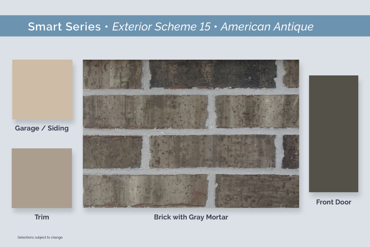 Dallas Smart Series Exterior Package 15 American Antique