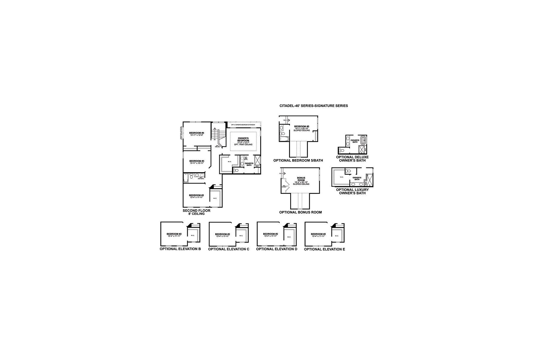 Citadel Second Floor