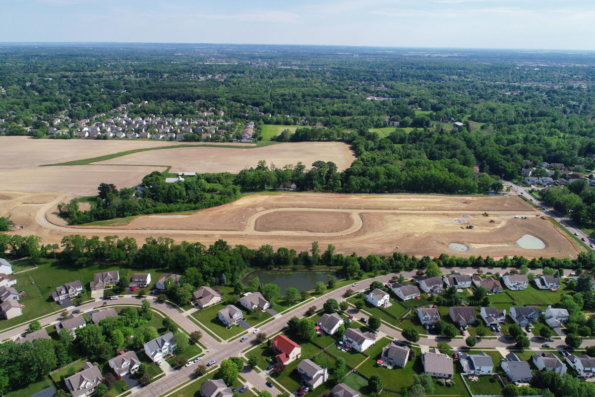 Spring Hill Farm Aerial