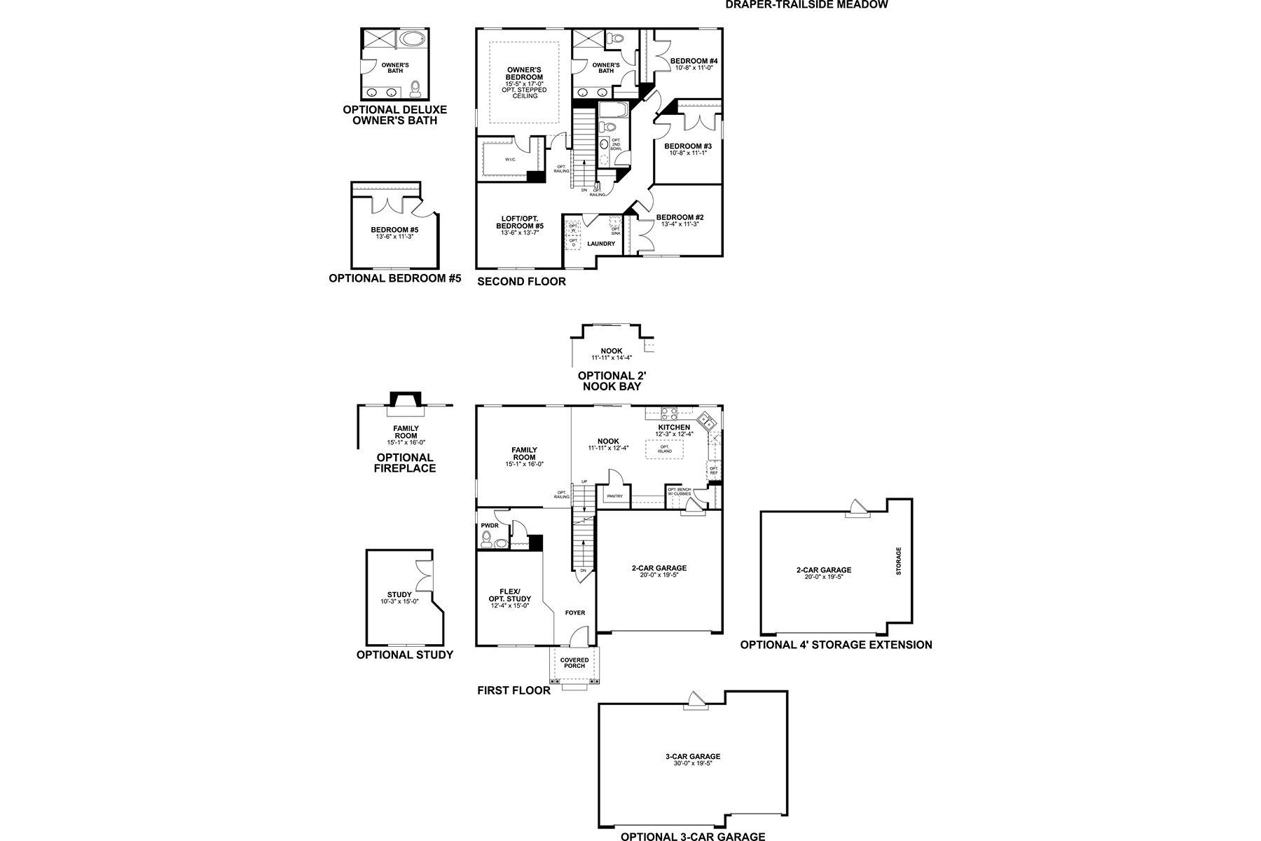 Draper Floorplan