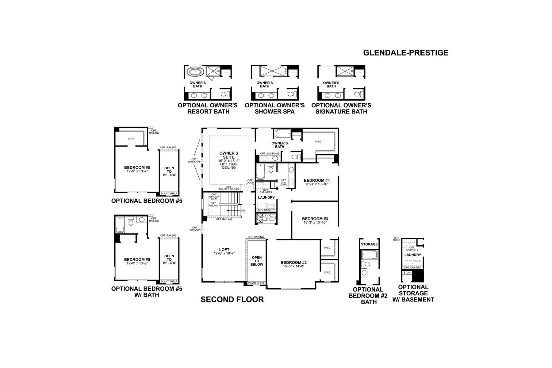 Glendale Second Floor