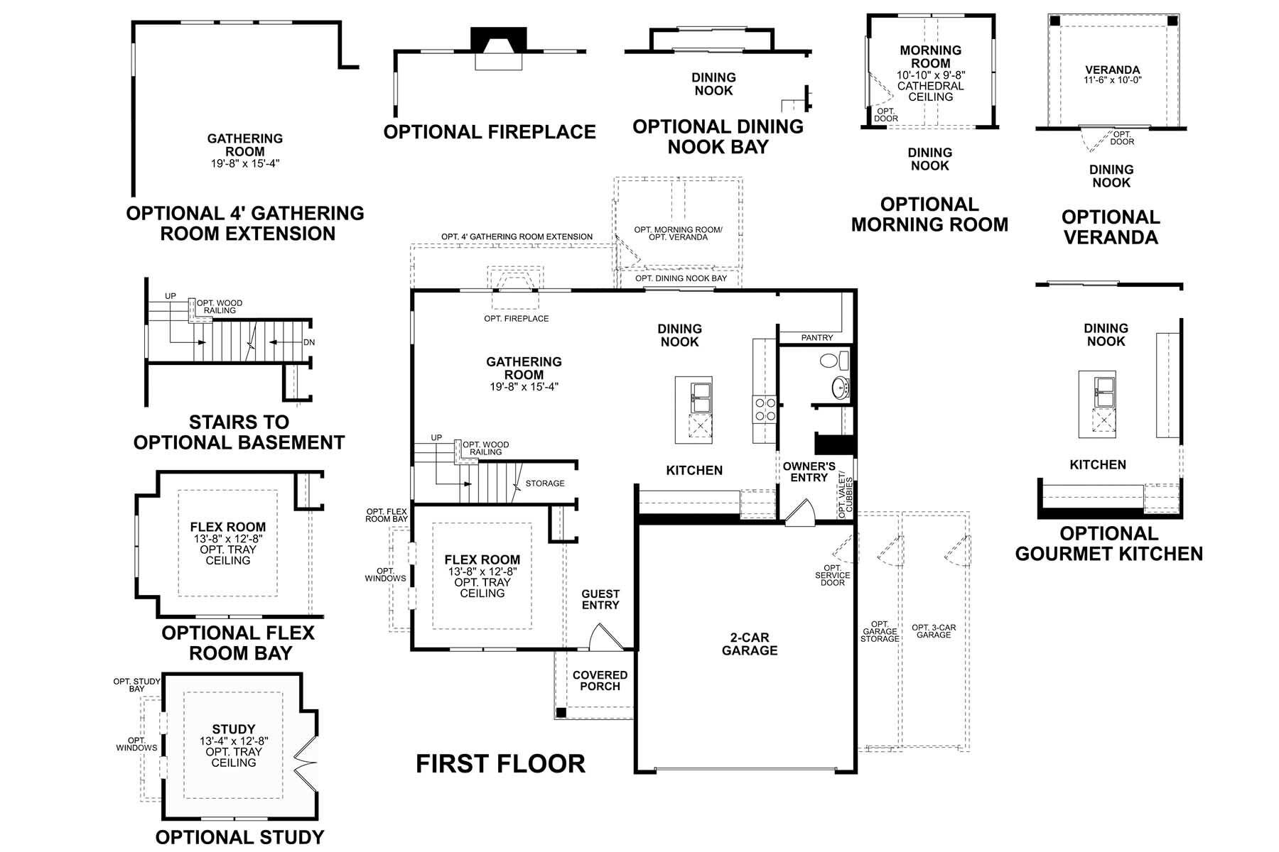 Cahill First Floor