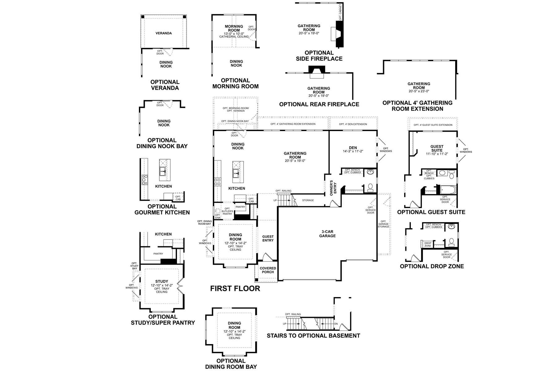 Kensington First Floor