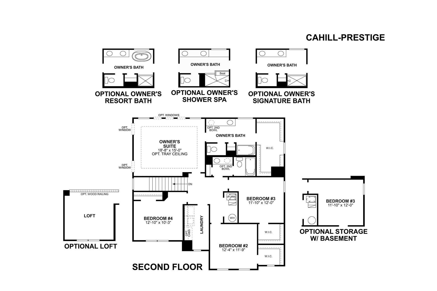 Cahill Second Floor