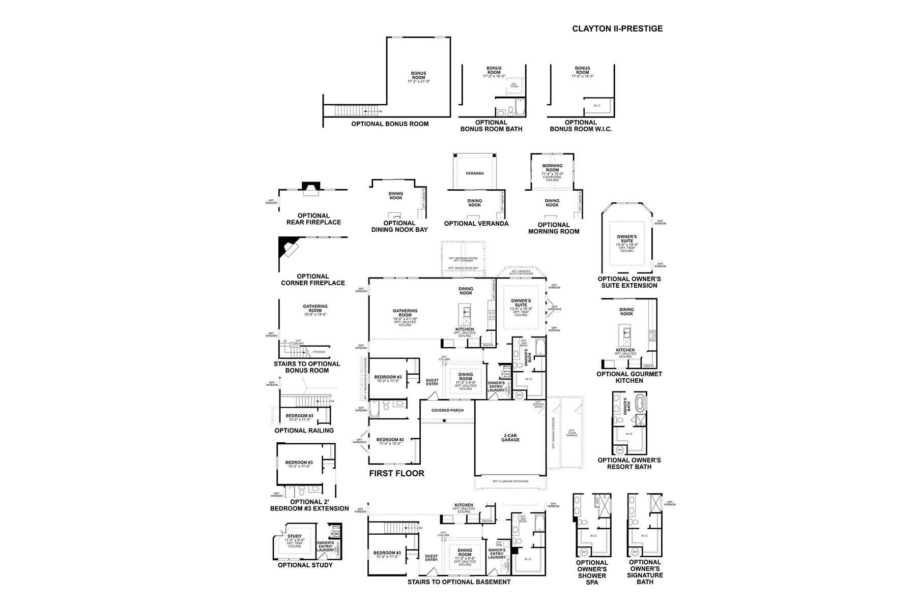 Clayton II First Floor