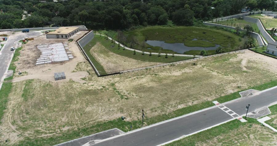 Hidden Lake Townhomes Aerial