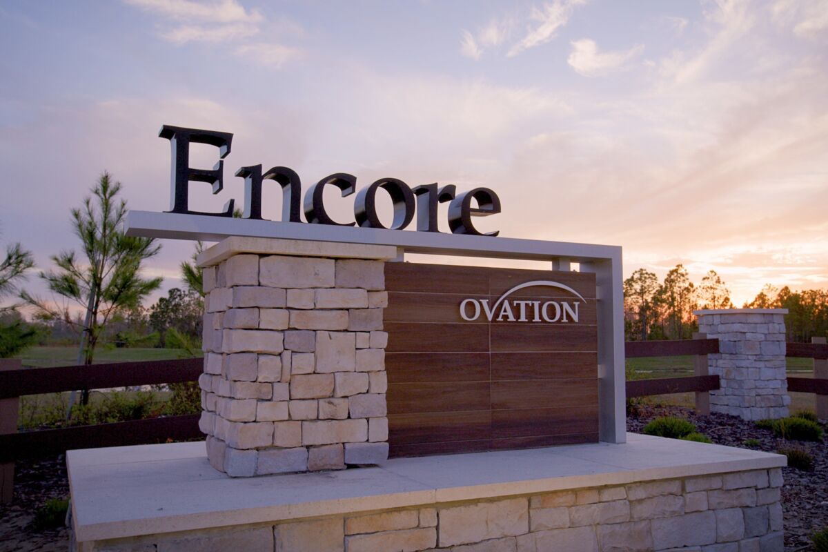 Encore at Ovation Entrance