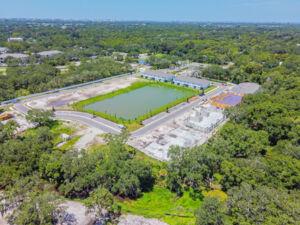 Sienna Park at University Aerial