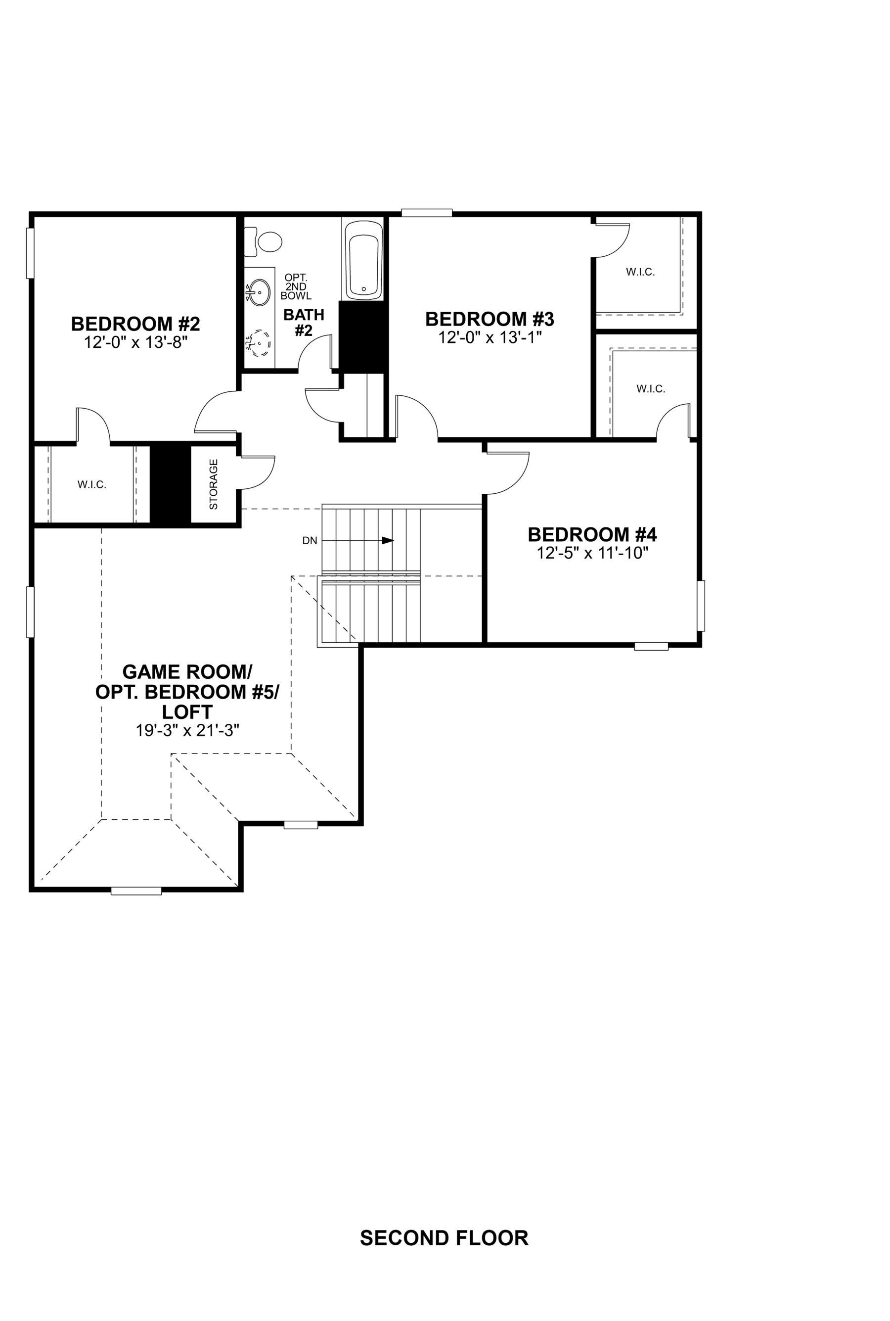 Magellan Second Floor