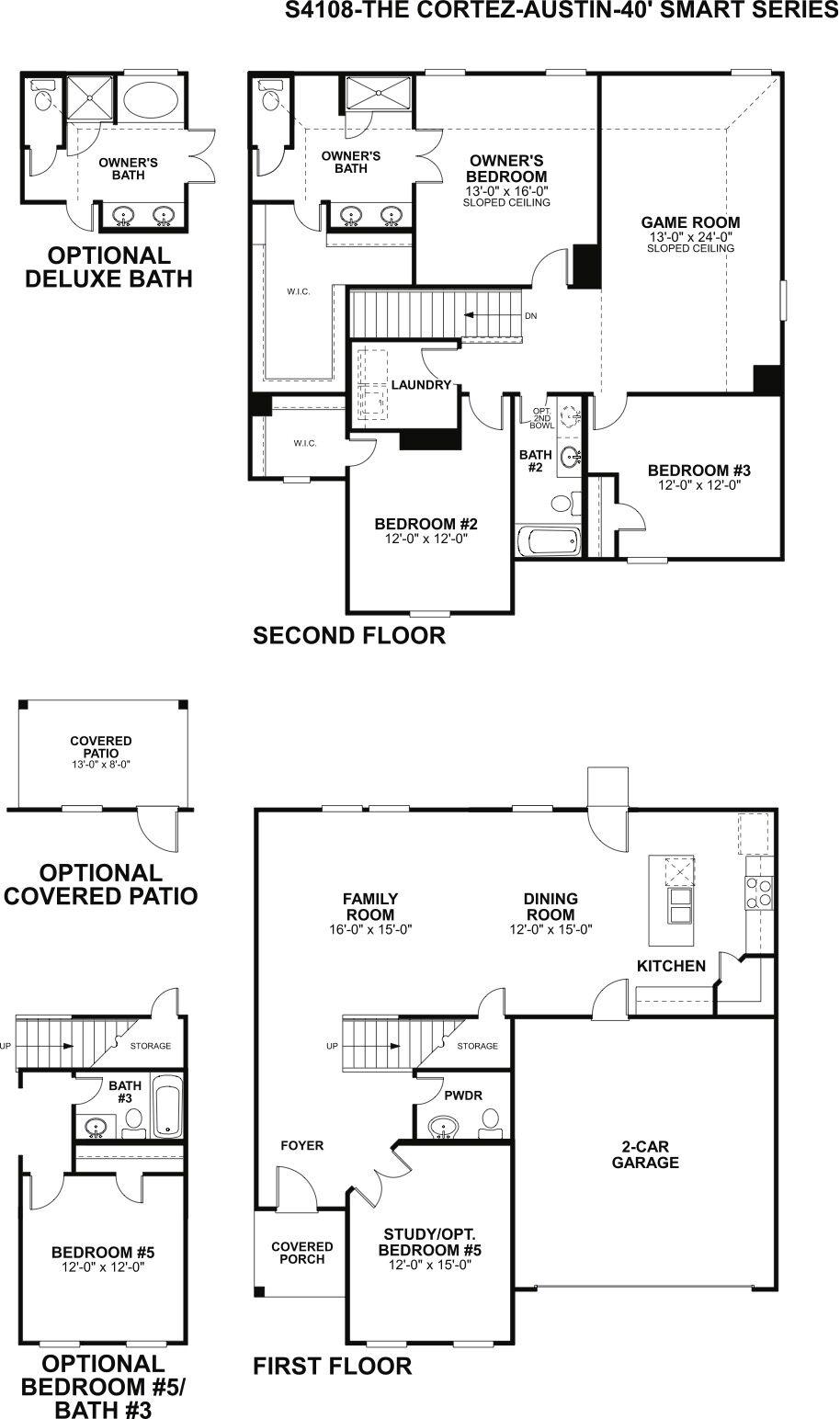 Cortez Floorplan