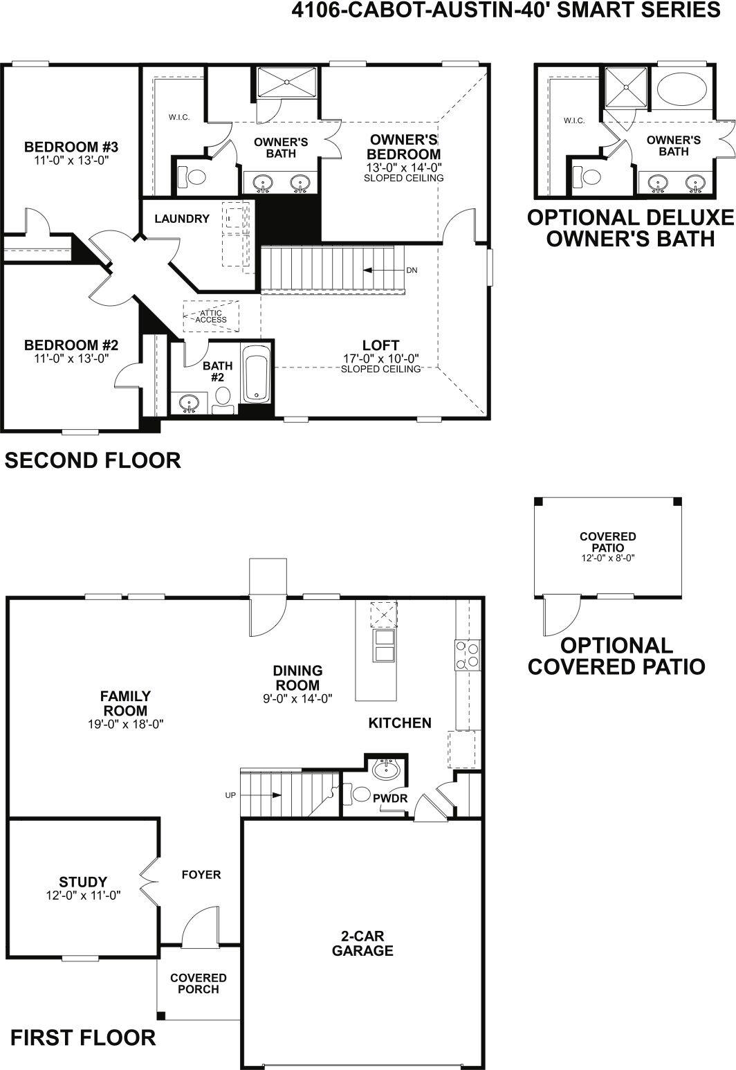 Cabot Floorplan