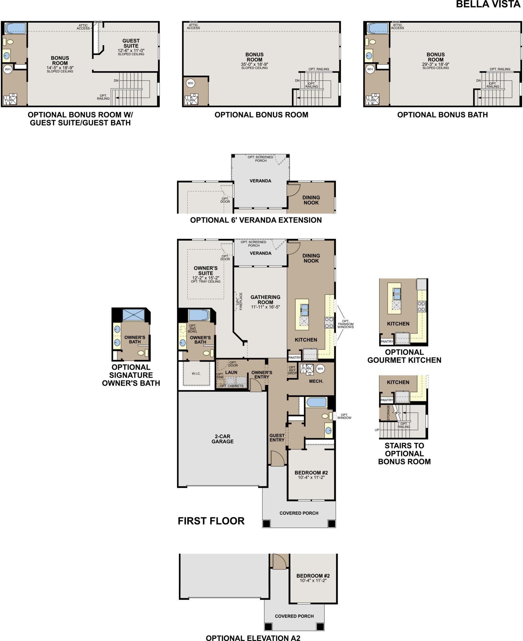 Bella Vista Static Floorplan