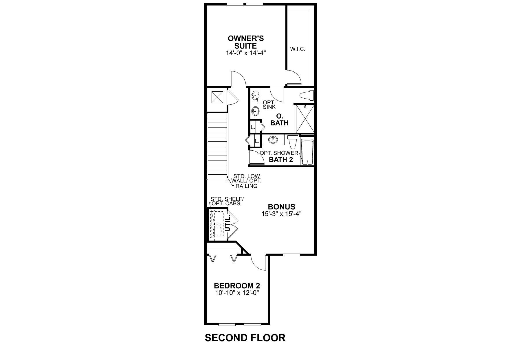 Bridgewater II Costal II Second Floor