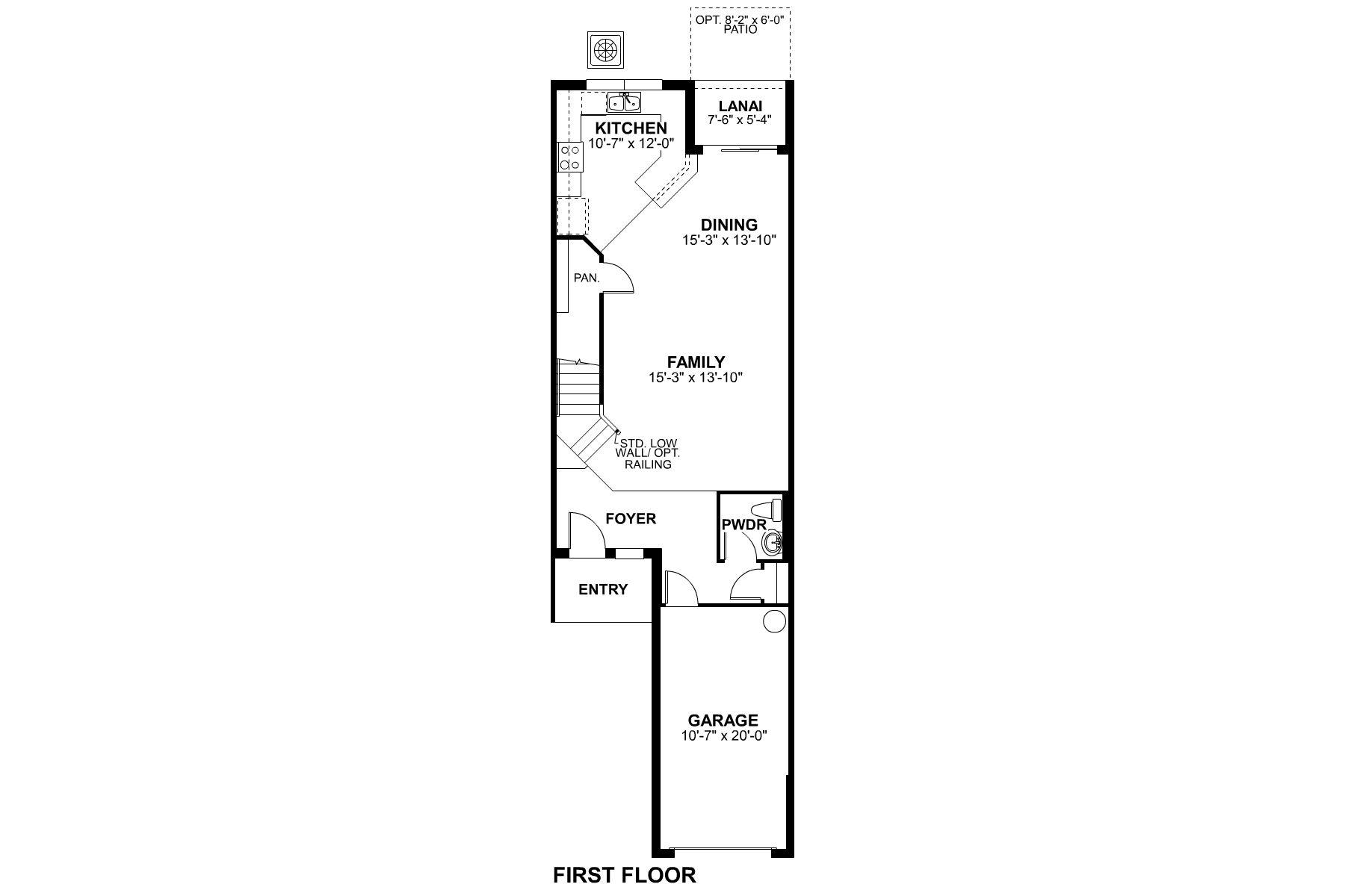 Covington II Coastal II First Floor