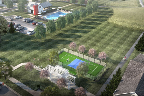 Amenity Pool and Pickleball Court