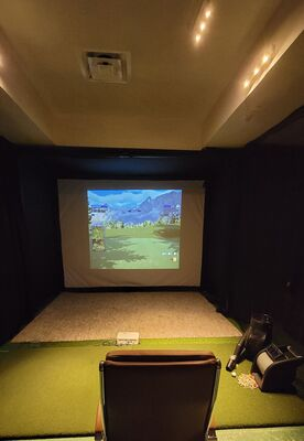 Garage Golf Room