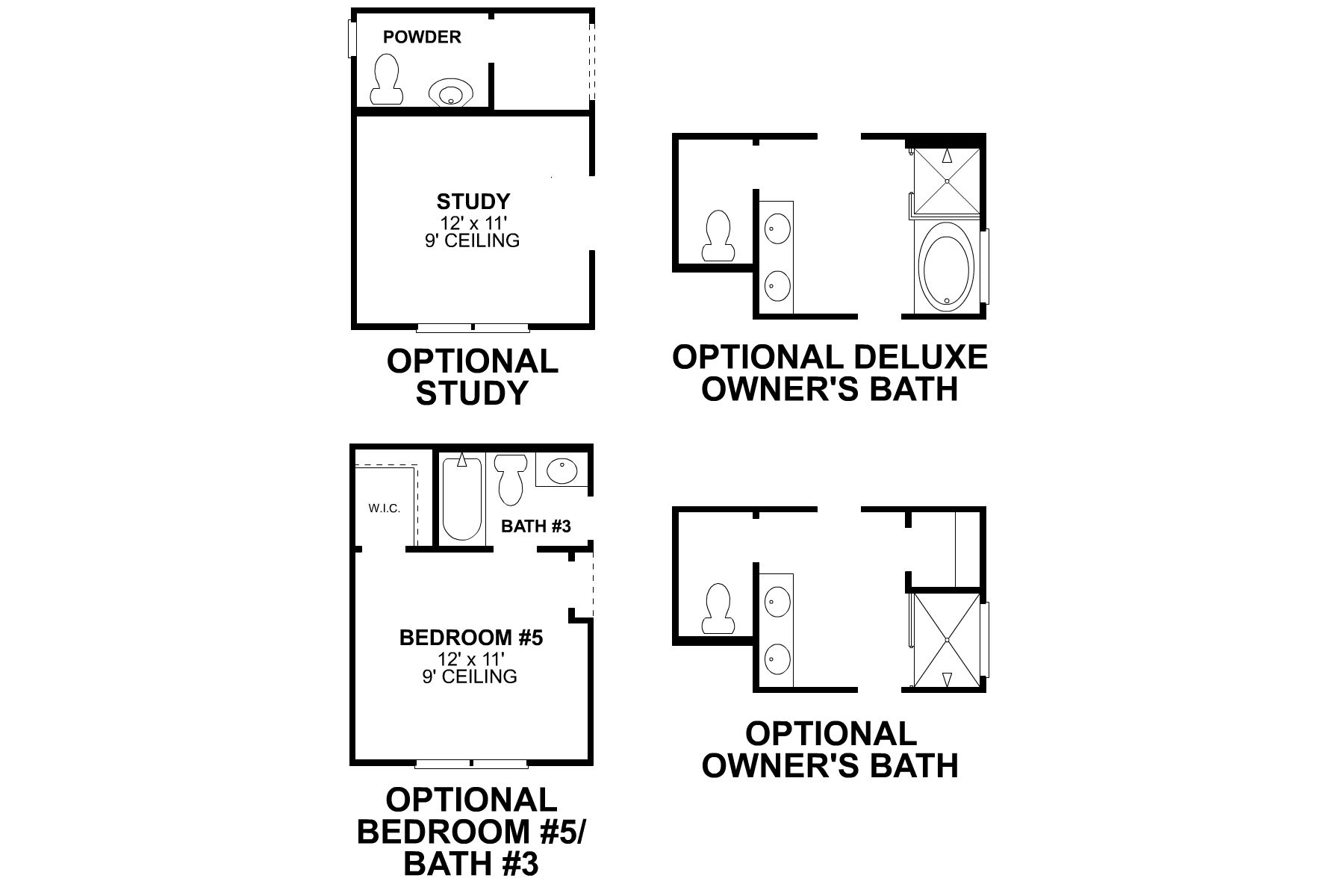 Bryant First Floor Options