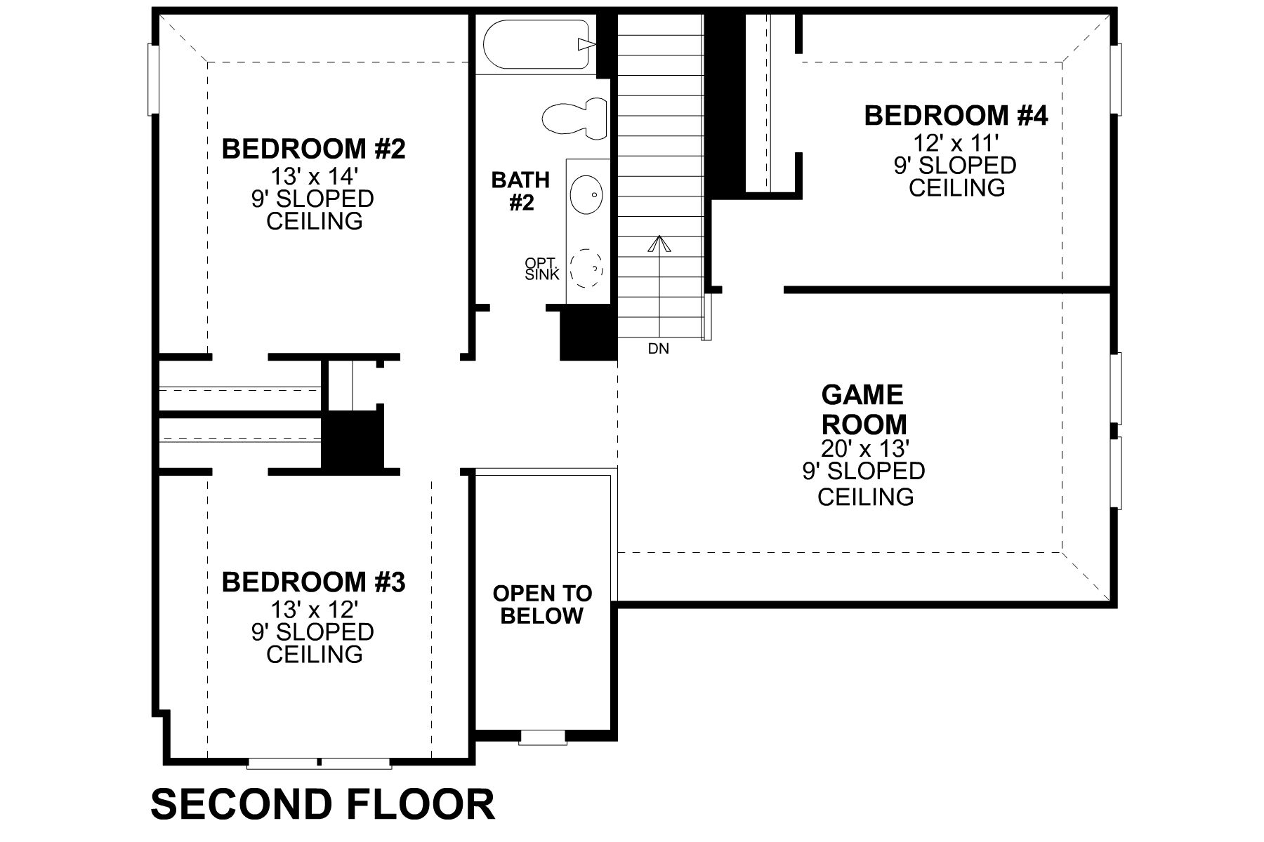 Bryant Second Floor