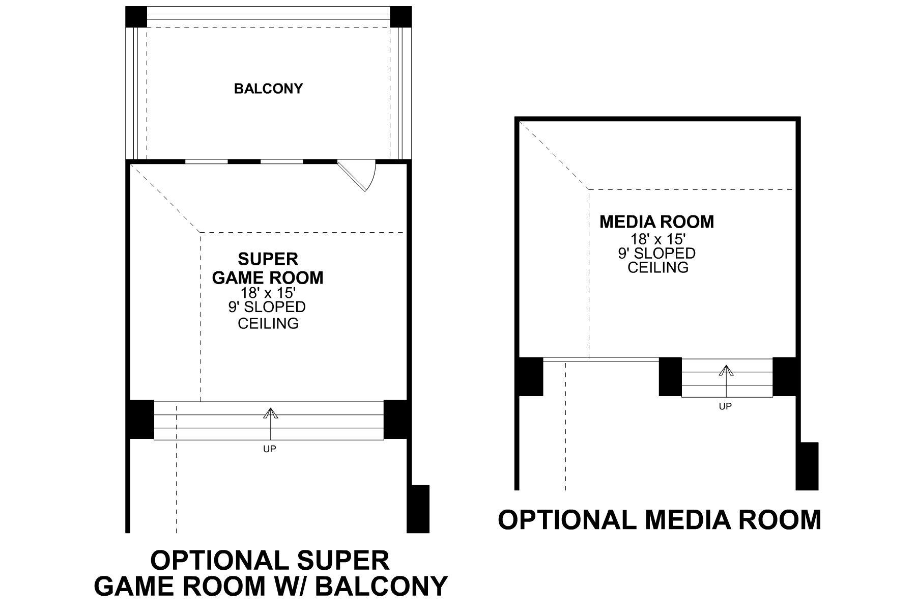 Eagle Second Floor Options