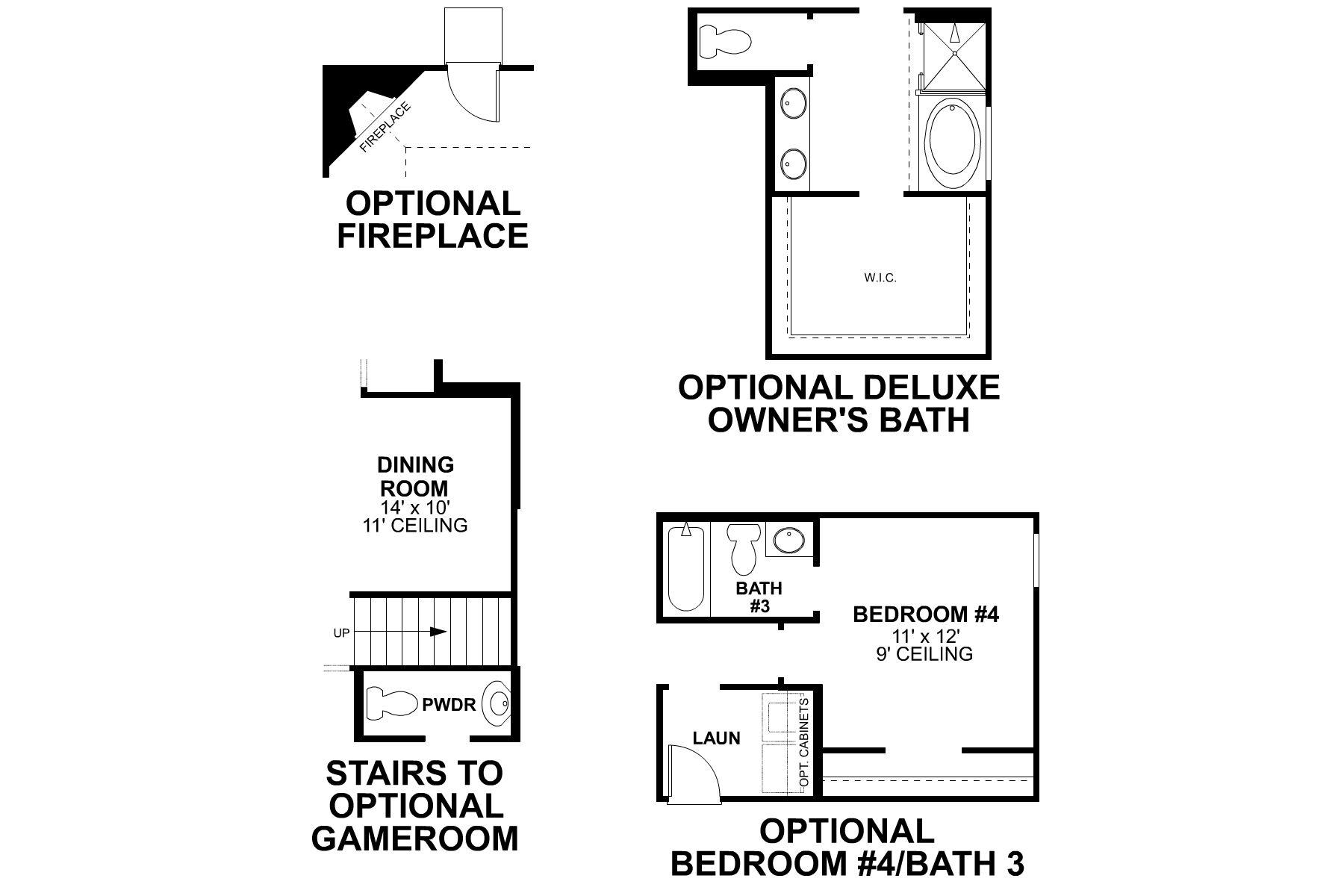Folsom First Floor Options