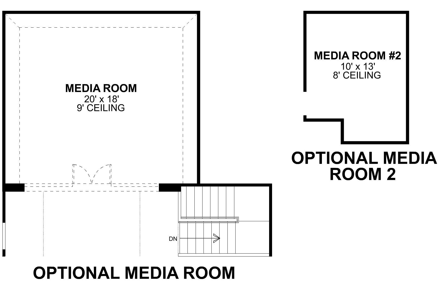 Frontier Second Floor Options