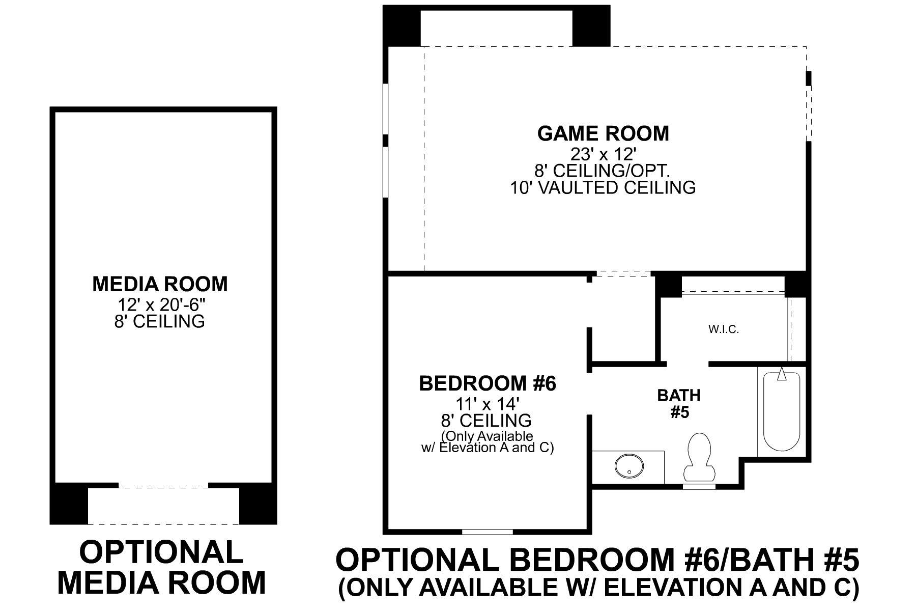 Haven Second Floor Options