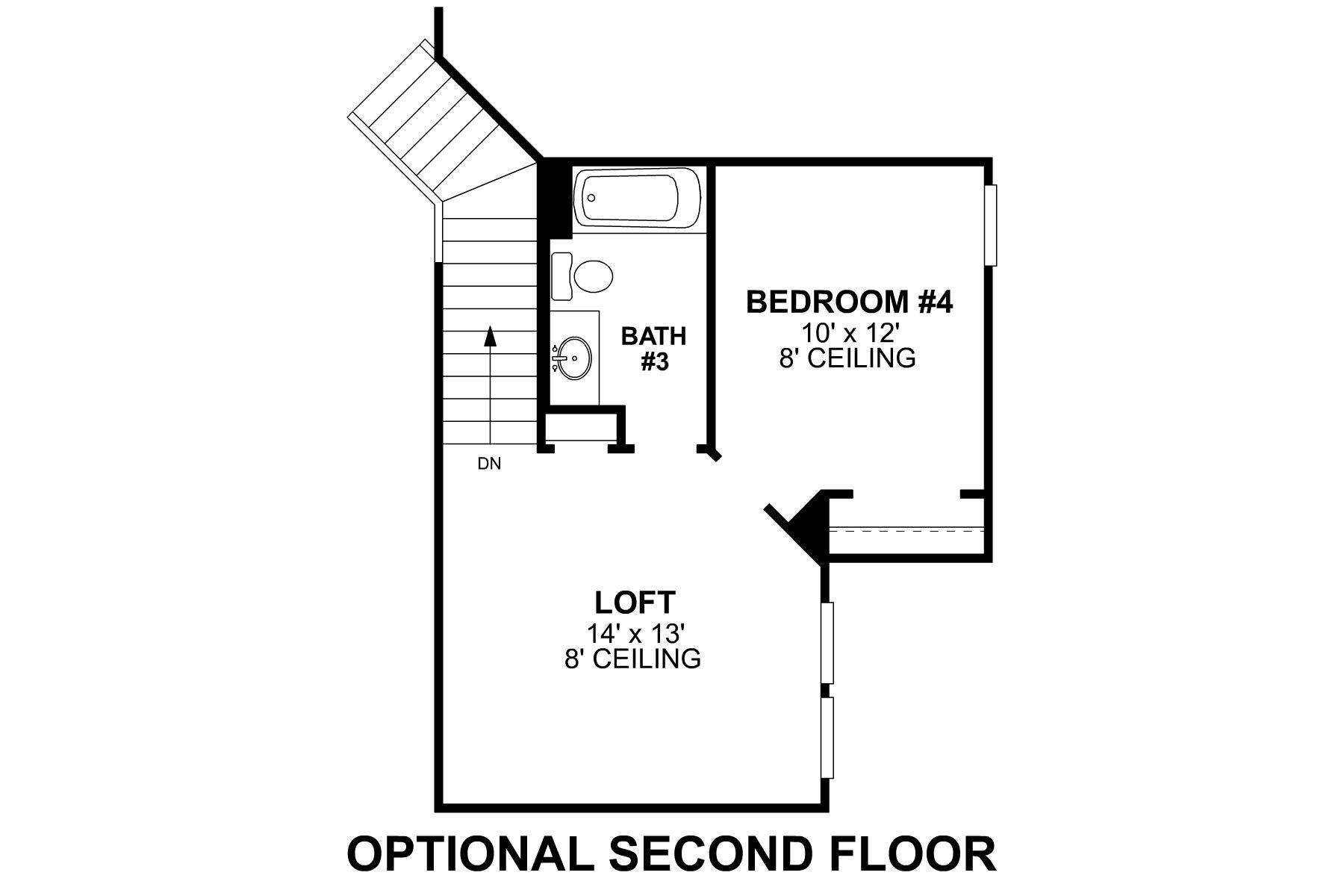 Edmonds Second Floor Options