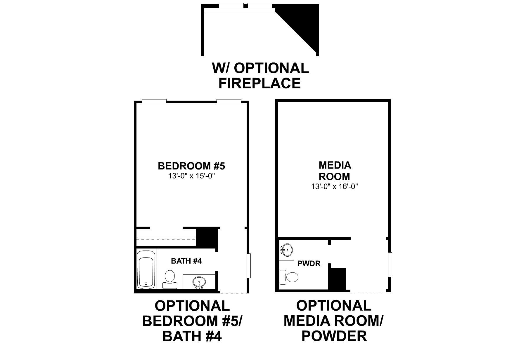 Balcones Second Floor Options