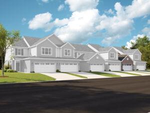Autumn Park Townhomes 6 Unit Building - Ainslie Right