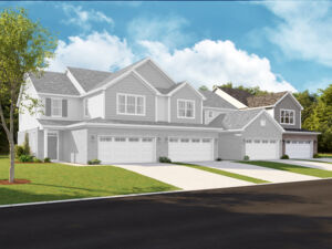 Autumn Park Townhomes 4 Unit Building – Campbell Right