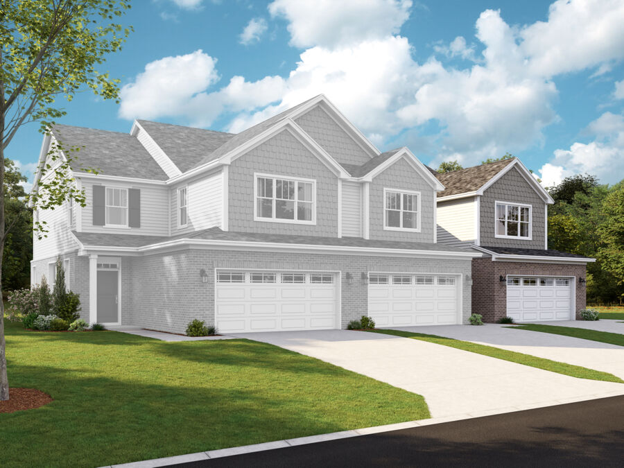 Autumn Park Townhomes 3 Unit Building – Campbell Right