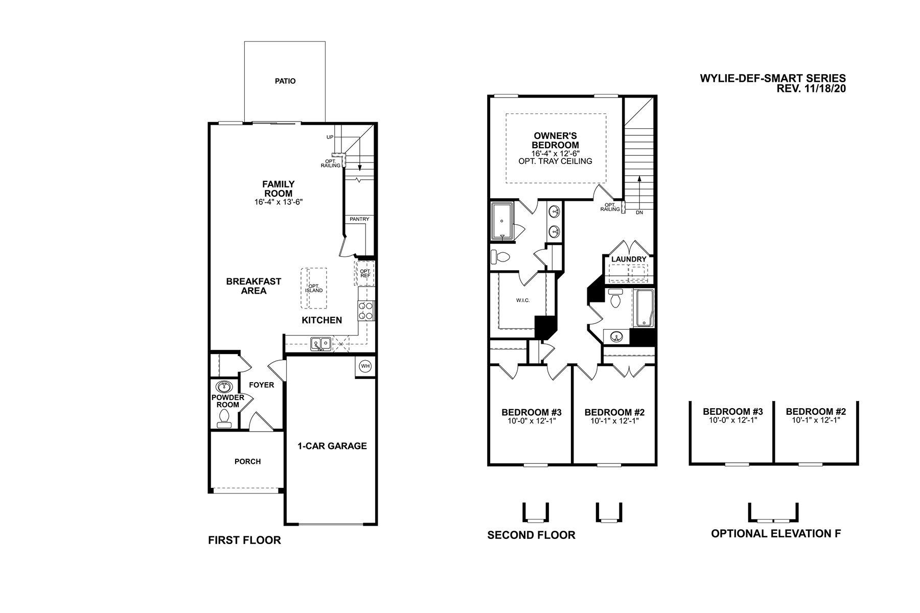 Wylie Floorplan