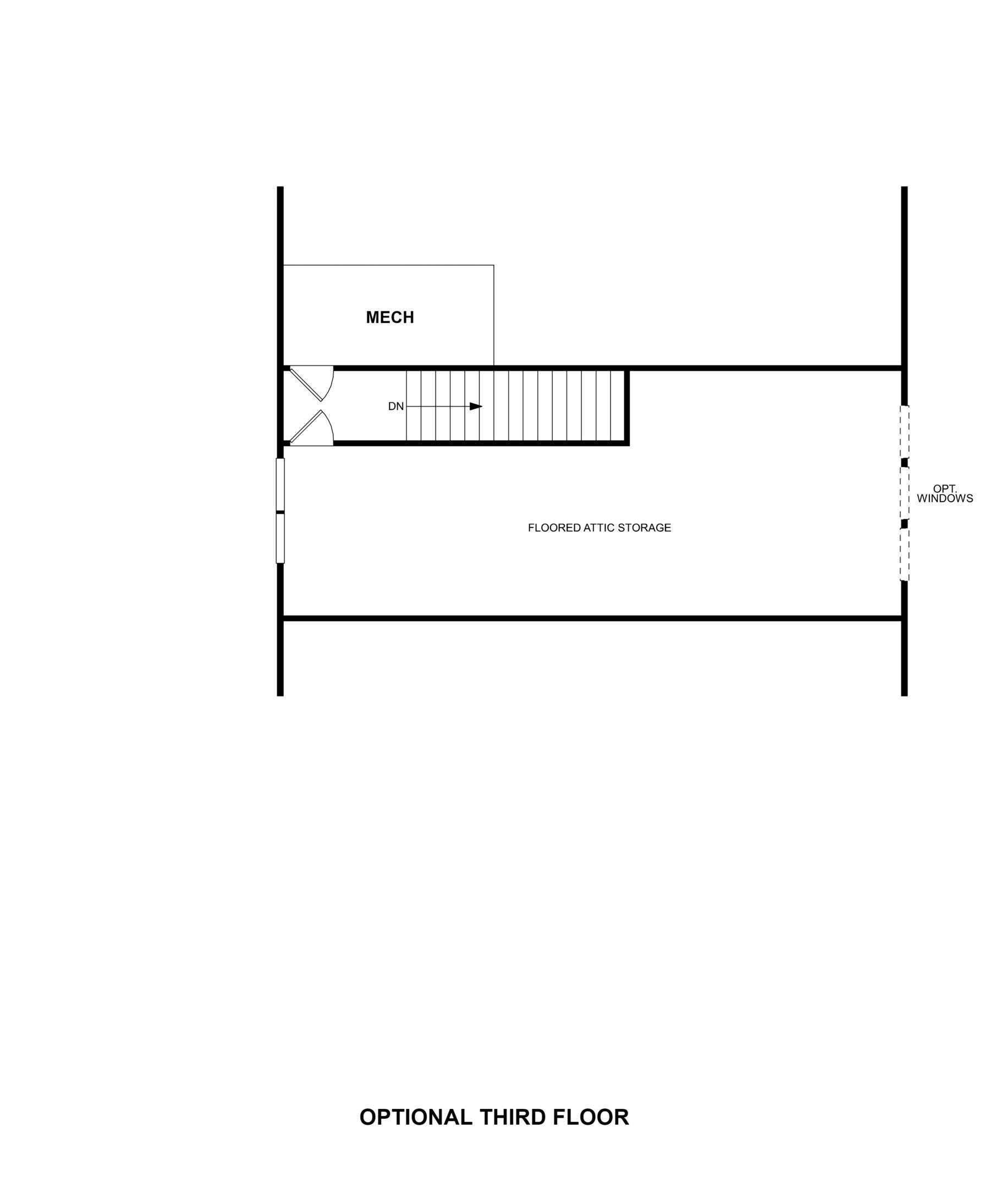 Grove at White Oak Watauga Optional Third Floor