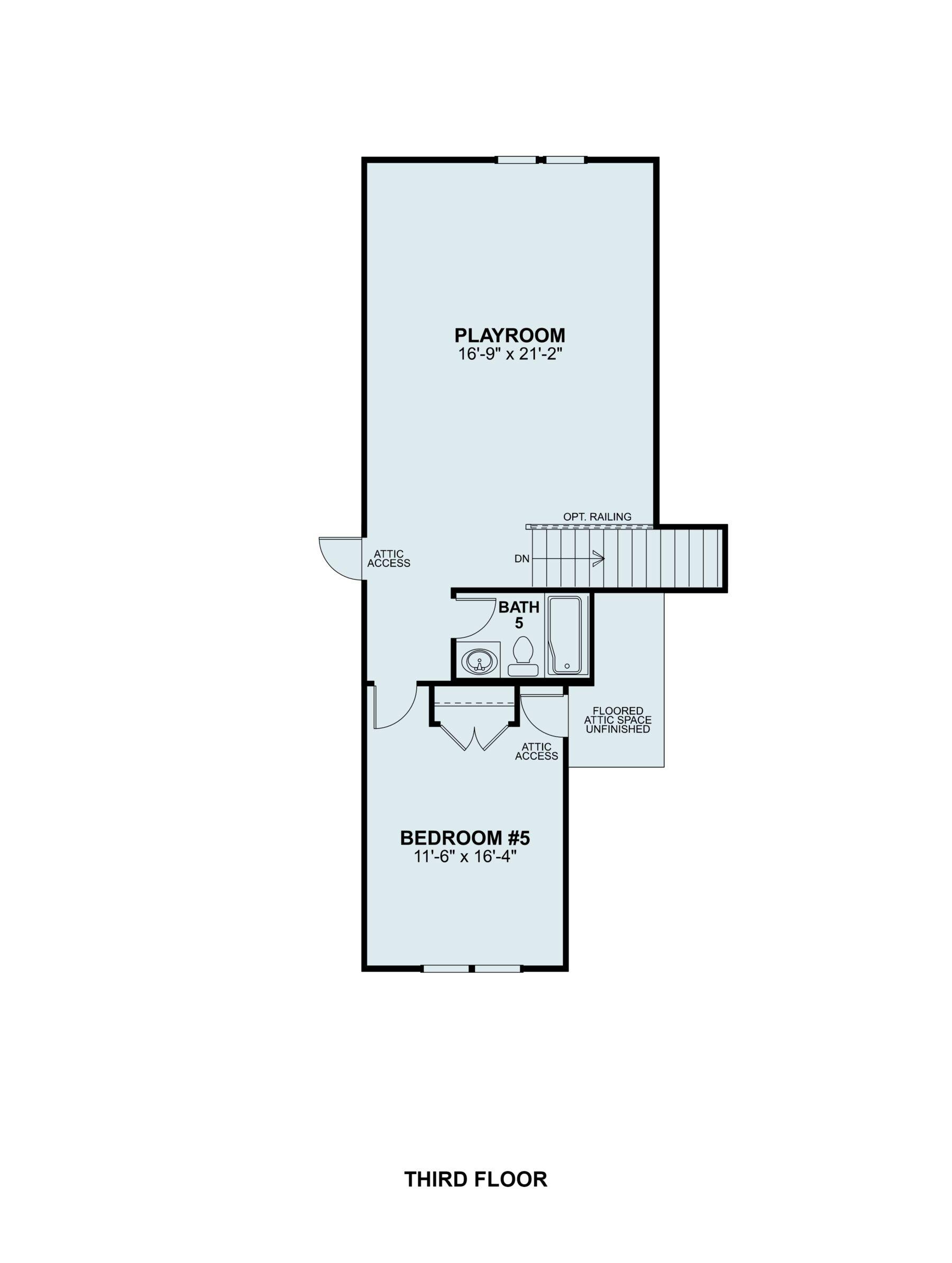 Brittain Third Floor