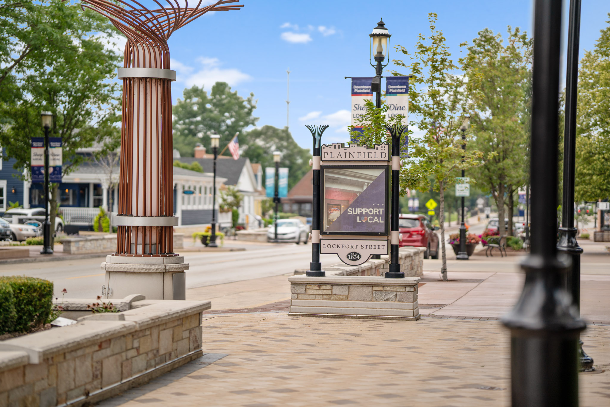 Downtown Plainfield, IL