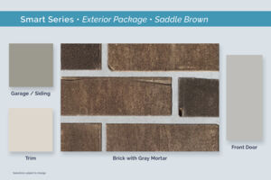 Dallas Smart Series Saddle Brown Exterior Package