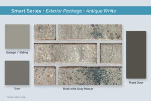 Dallas Smart Series Antique White Exterior Package